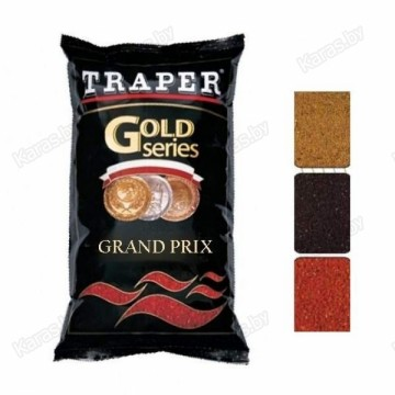 Прикормка TRAPER GOLD 1 кг Grand Prix (обычная, черная, красная)